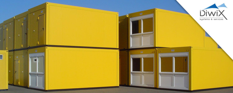 Obytné a skladové kontajnery